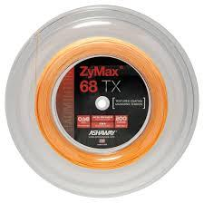 Ashaway Zymax 68 TX 0.68mm 200m (Spin & Control with Power & Durability) - Badminton String Reel
