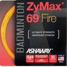 Ashaway Zymax 69 Fire 0.69mm (Ultimate Strength) Badminton String