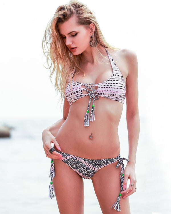 Kriést - Bikini Swimsuit - Ouivita - Stylish Artisan Swimwear & Luxury Apparel