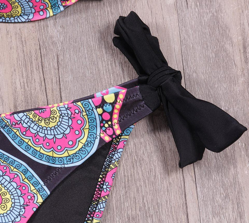 Hameña - Bikini Swimsuit - Ouivita - Stylish Artisan Swimwear & Luxury Apparel