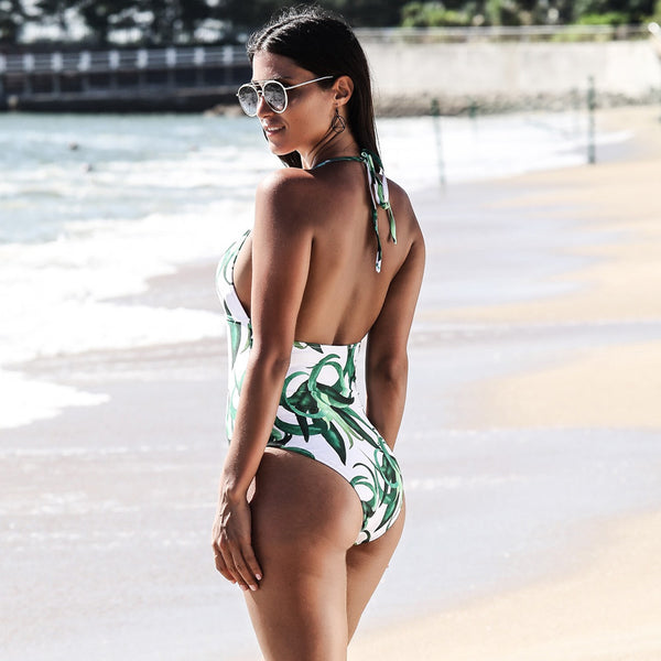 Feulleñe - One Piece Swimsuit - Ouivita - Stylish Artisan Swimwear & Luxury Apparel