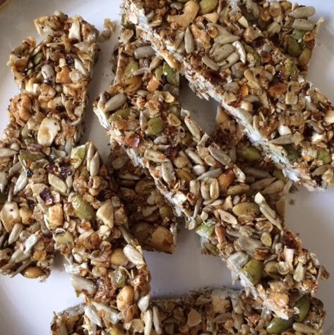 Honey Nut & Seed Bars