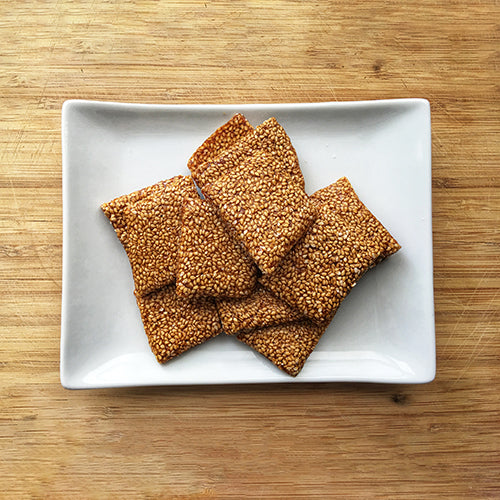 Honey Sesame Snaps
