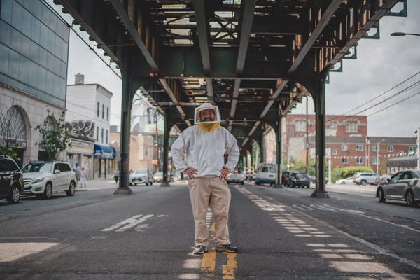 Nick Hoefly - Beekeeper in Astoria, Queens