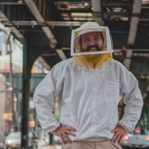 AMNY - Queens-based Beekeeper Talks Growing Honey Business from His Rooftop and Participation in Local Initiative to Help the Bees