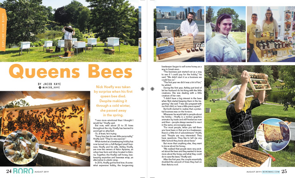 BORO Magazine Article on Astori Apiaries