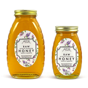 Alfalfa Blossom Raw Honey