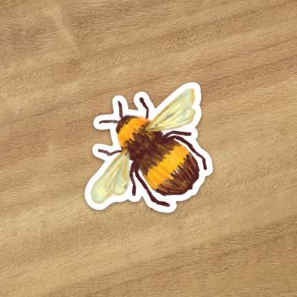 Little Bumble Bee Sticker - Astor Apiaries