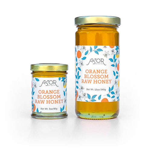 Orange Blossom Raw Honey - Astor Apiaries