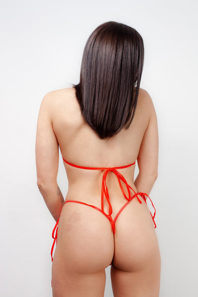 MICRO THONG BOTTOM - CHERRY PIE