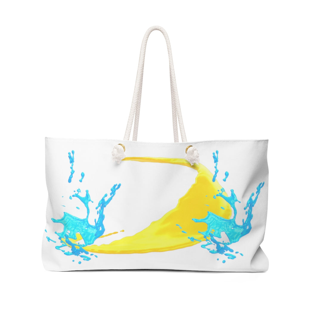 Accra Summer Beach Bag - Weekender Bag - Bridesmaid Beach Wedding Gift