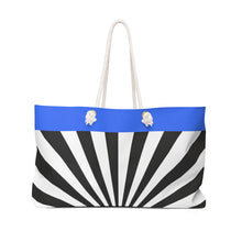 Load image into Gallery viewer, Disco Zebra - Weekender Bag