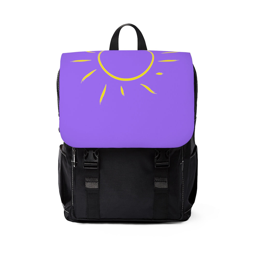 Sun and Sea Unisex Casual Shoulder Backpack