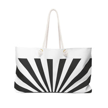 Load image into Gallery viewer, French Zebra - Weekender Bag