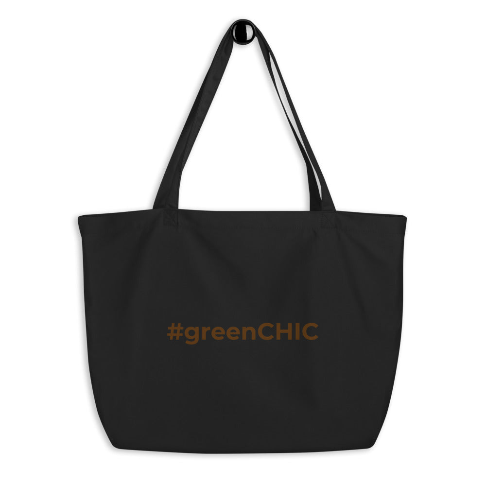 #greenCHIC Large Eco Tote Bag