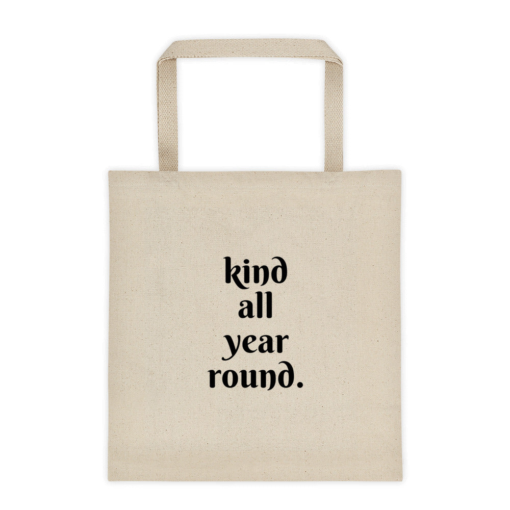Reusable eco-friendly everyday tote bag