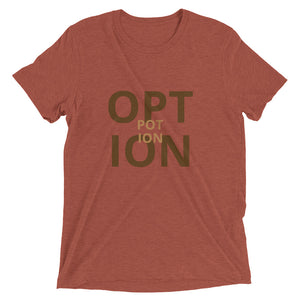 Option - short sleeve t-shirt