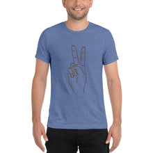 Load image into Gallery viewer, Peace - unisex short sleeve t-shirt