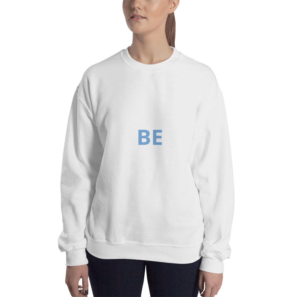 BE - classic fit unisex sweatshirt