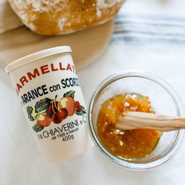 italian orange lemon and cherry marmalade