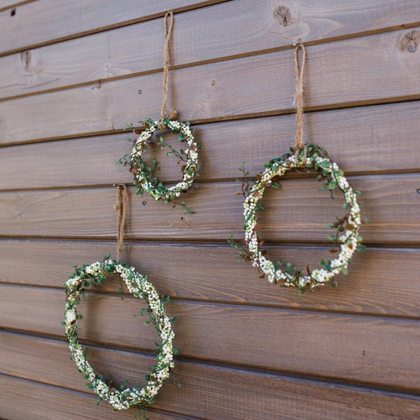 Angel Vine & Berry Wreaths