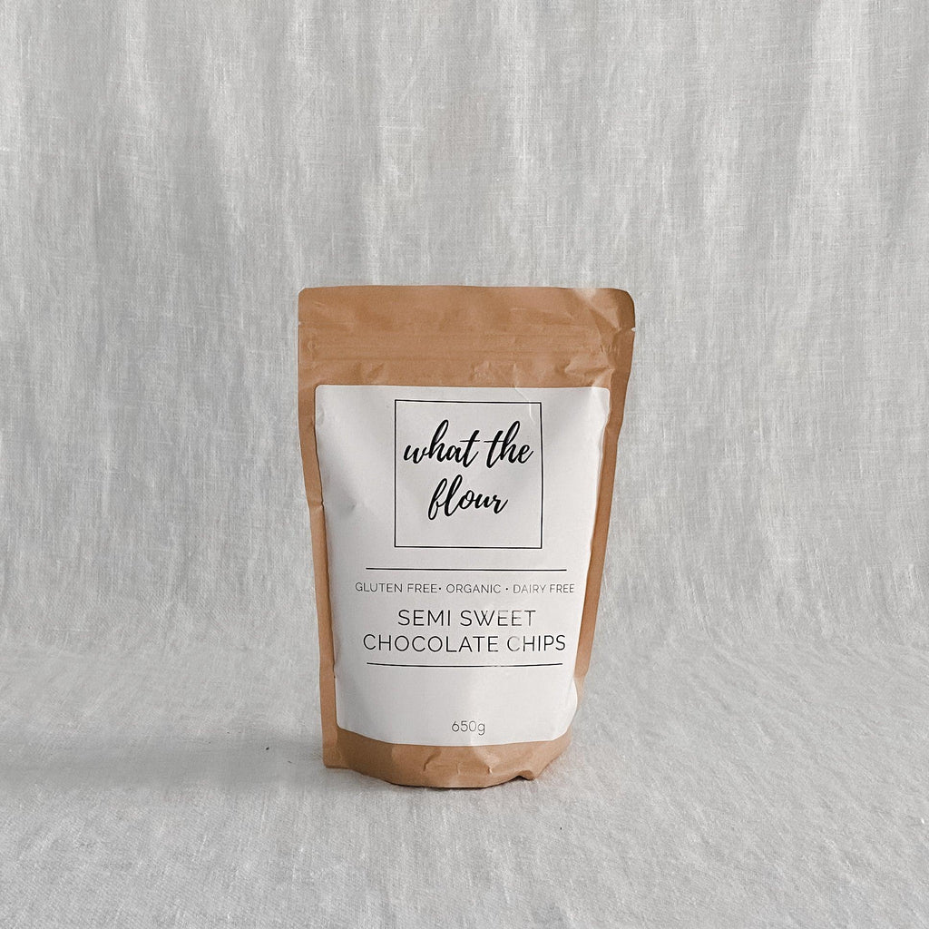 What The Flour - Gluten Free Semi Sweet Chocolate Chips