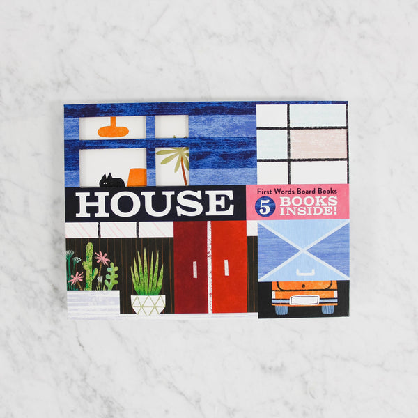 House Words Board Book Set