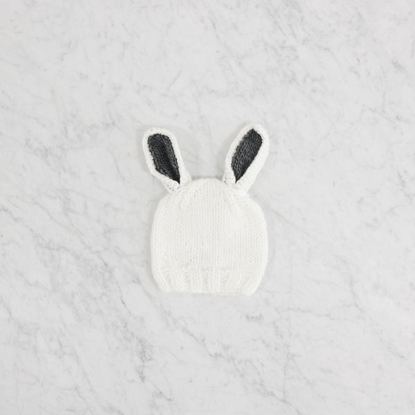 Blueberry Hill - Bailey Bunny White/Grey