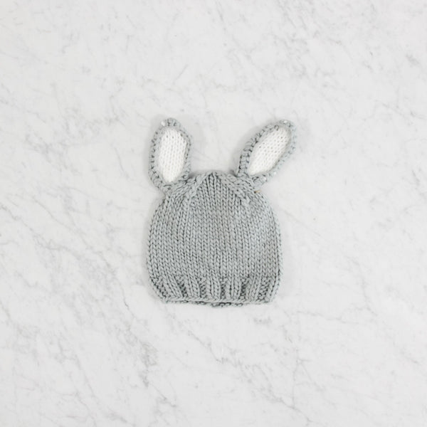 Blueberry Hill Bailey Bunny Grey/White