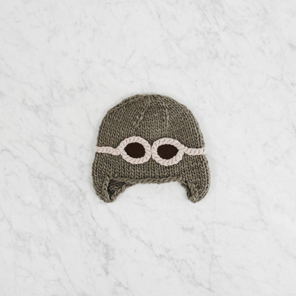 Blueberry Hill Aviator hat
