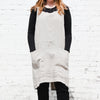 front of natural cuisine apron by linen way