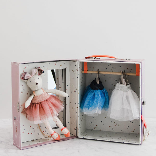Moulin Roty - Ballerina Mouse in a Suitcase