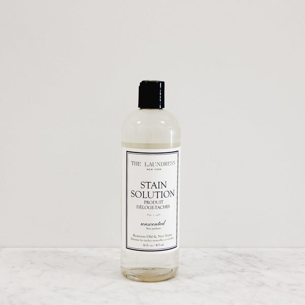 bottle of the laundress new york unscented stain solution