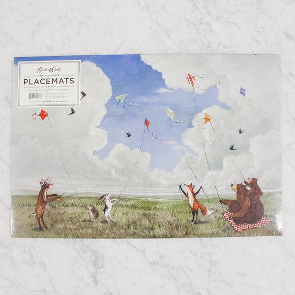 Hester & Cook - Paper Placemats - Kite Party