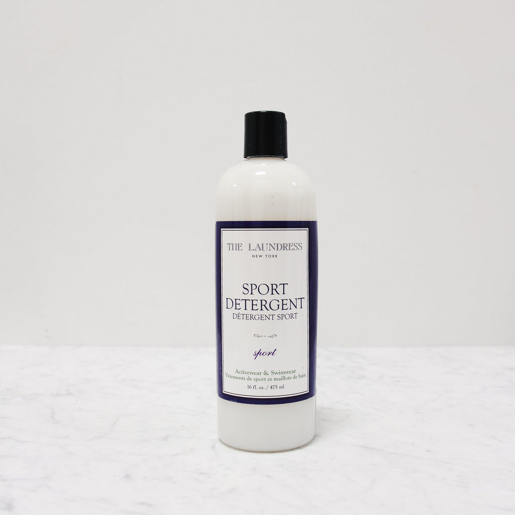 bottle of laundress sport laundry detergent for anti-odor
