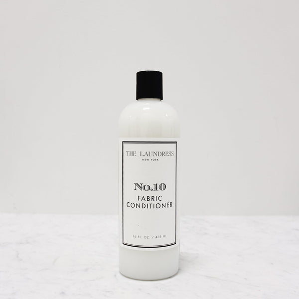 bottle of laundress number ten fabric conditioner laundry detergent