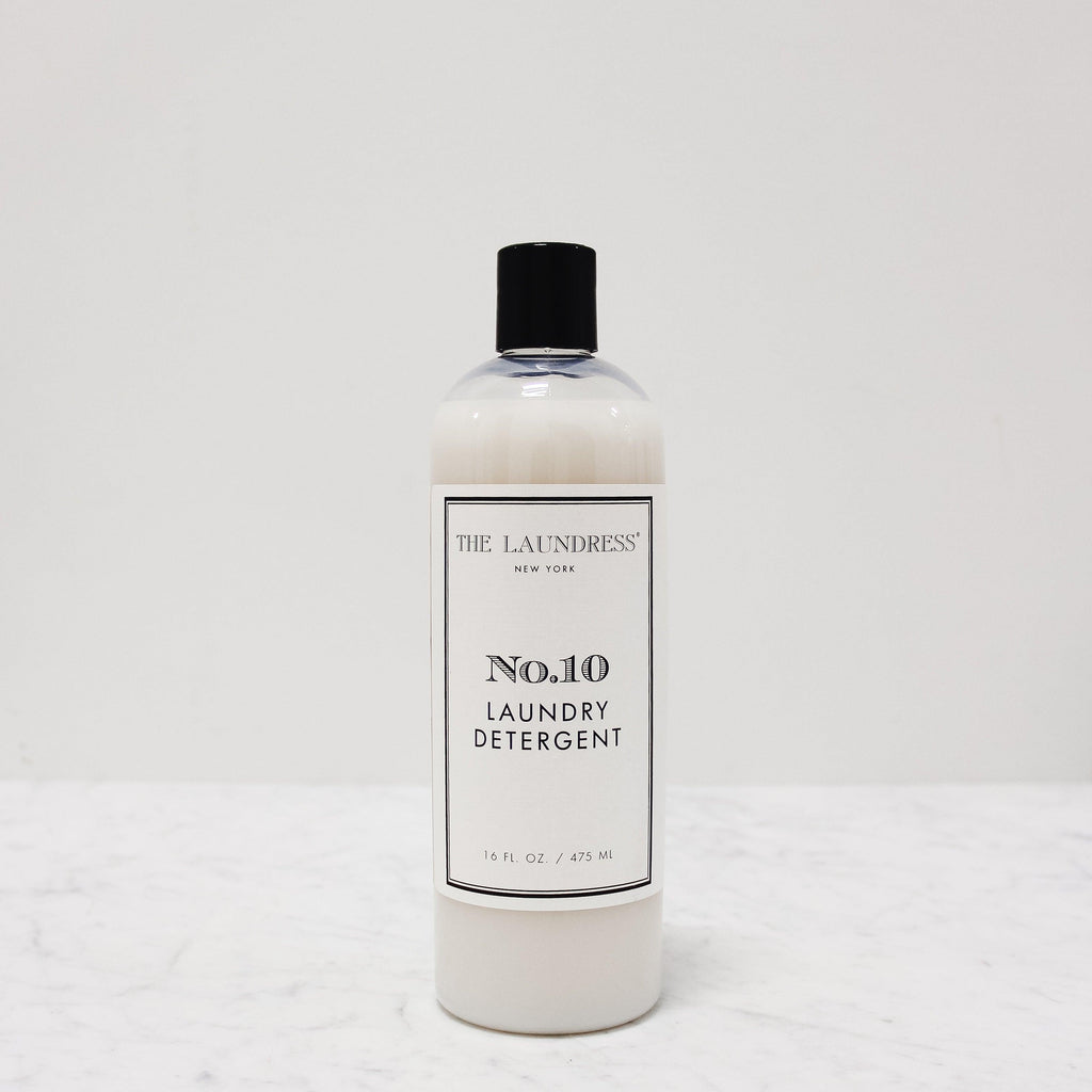 bottle of laundress number 10 scented laundry detergent