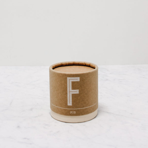 Falcon Enamelware - Cook's Candle in Fig