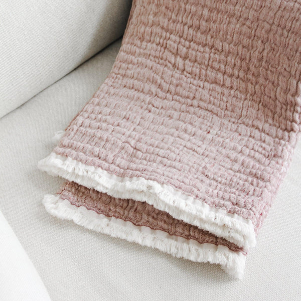 "Linen Way - ""Nobleton"" Throw (Double Sided)"