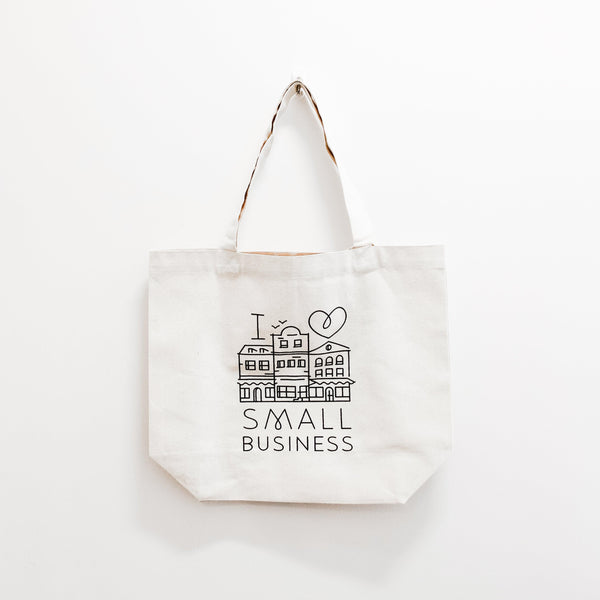 Support Small Business Shopping Bag