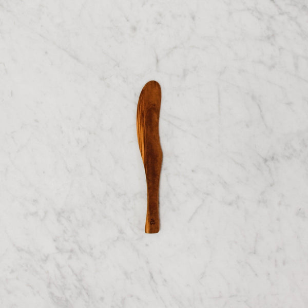 French Olive Wood Butter Knife