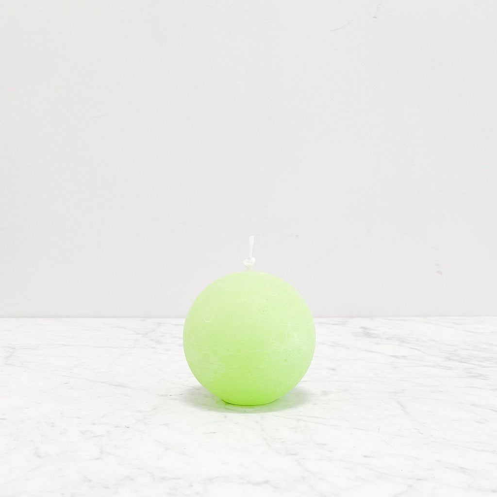 Twilight - Round Candle - Lime