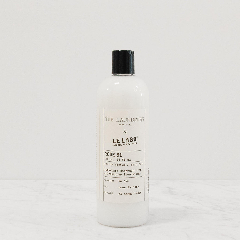bottle of laundress le labo perfumed laundry detergent