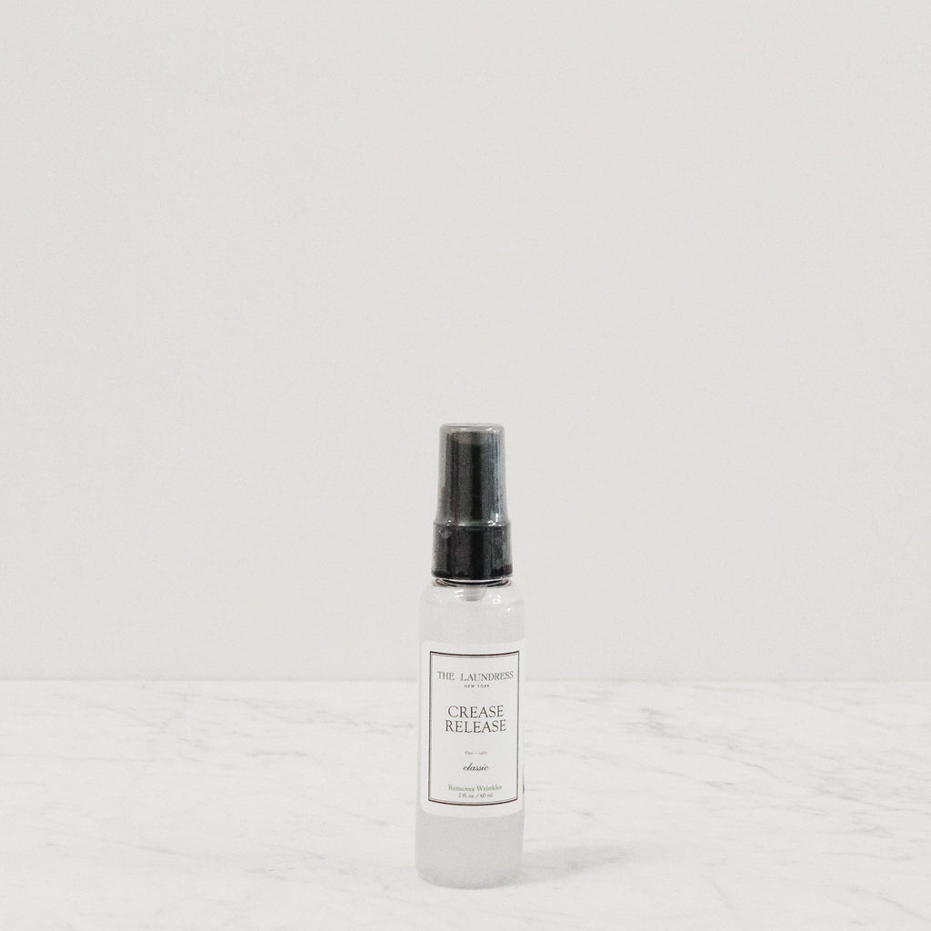 travel spray bottle of laundress crease and wrinkle release
