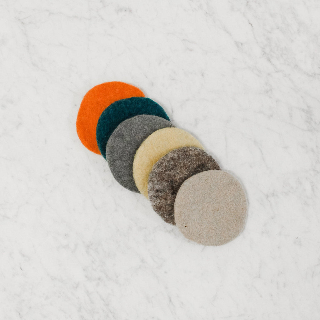 Hamro - Felt Coaster Set