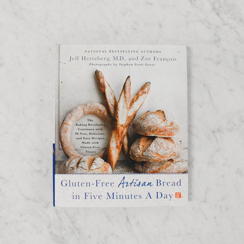 front cover of gluten-free artisen bread in five minutes a day cookbook