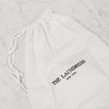 laundress hotel drawstring laundry bag for dirty laundry storage
