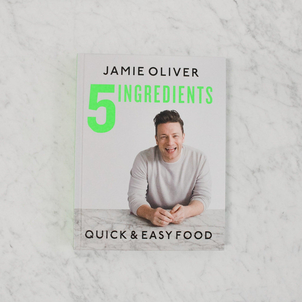 front cover of jamie oliver 5 ingredients: quick and easy food
