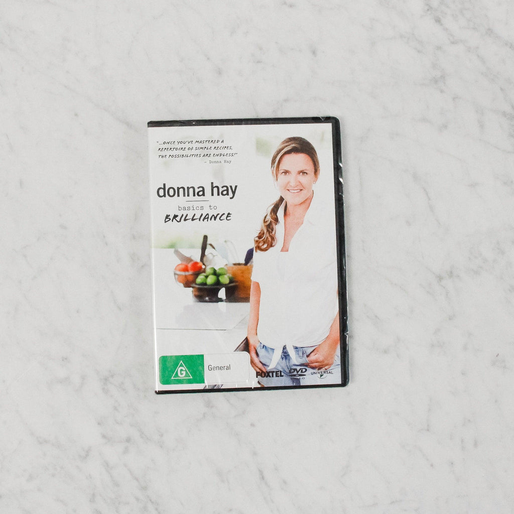 dvd companion to donna hay's basics to brillance
