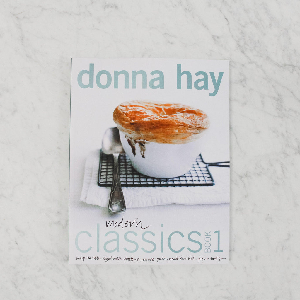front cover of donna hay modern classics book one